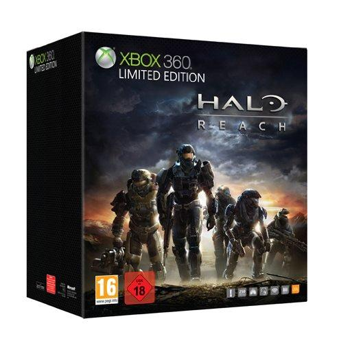 Xbox 360 - Konsole 250 GB Limited Edition inkl. Halo Reach