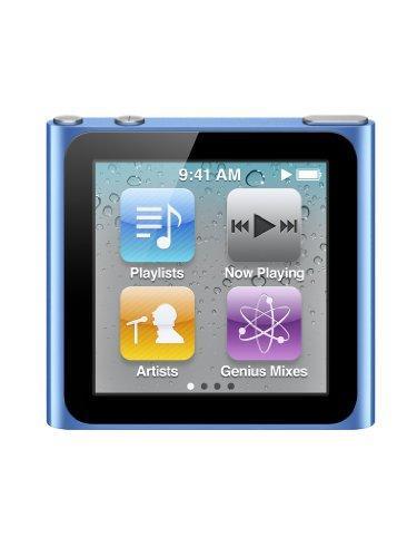 Apple iPod nano MP3-Player (Multi-touch Display) blau 8 GB (NEU)