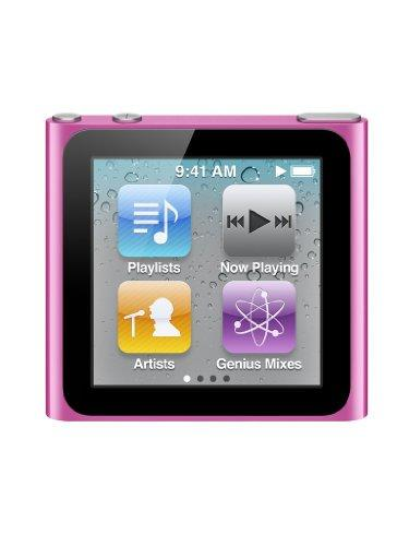 Apple iPod nano MP3-Player (Multi-touch Display) pink 8 GB (NEU)