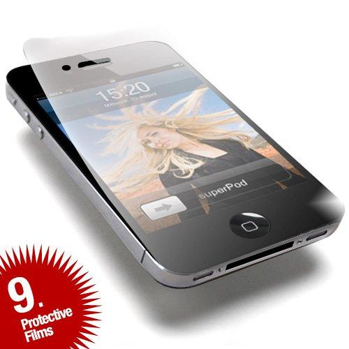 Screengards - Display Schutz-Folie für Apple iPhone 4