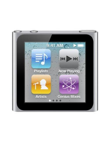 Apple iPod nano MP3-Player (Multi-touch Display) silber 16 GB