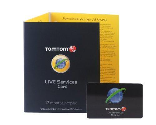 TomTom LIVE Service Card (12 Monate) für TomTom Go Live und XL