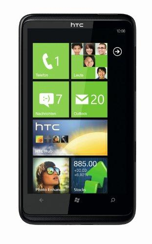 HTC HD7 Smartphone (10,9 cm (4,3 Zoll) Touchscreen, Windows