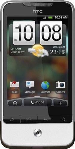 HTC Legend silber Smartphone (8,1 cm (3,2 Zoll) Display,