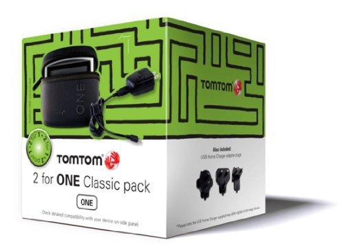 TomTom 2forONE Classic Cube Pack (Tasche, USB-Reiseladegerät,