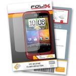 FoliX FX-Antireflex Displayschutzfolie für HTC Wildfire –