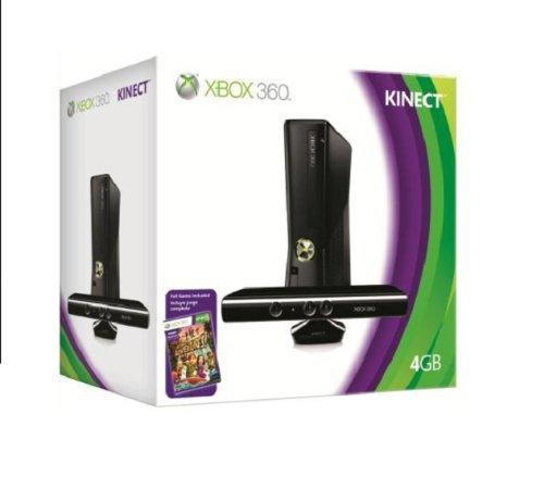 Microsoft X-Box 360 slim Standard 4 GB Kinect Bundle incl.