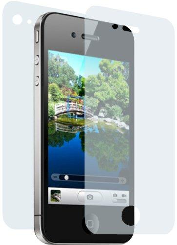 mumbi Displayschutzfolie iPhone 4 CrystalClear mit RÜCKSEITE
