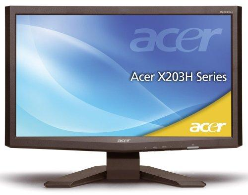 Acer X203HCbd 50.8 cm (20 Zoll) widescreen TFT Monitor
