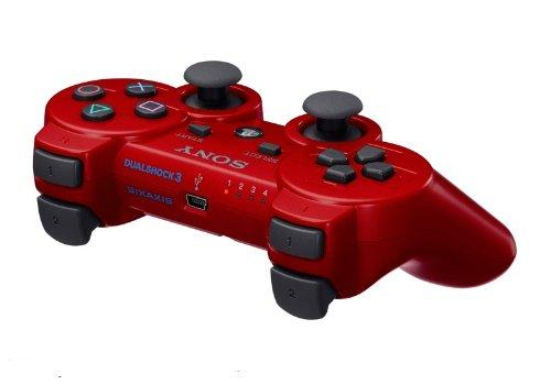 PlayStation 3 - DualShock 3 Wireless Controller, red
