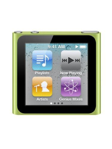 Apple iPod nano MP3-Player (Multi-touch Display) grün 8 GB