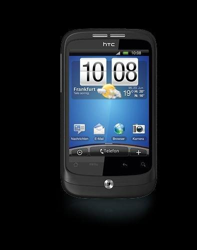 HTC Wildfire Smartphone ( 5MP Kamera, Touchscreen, 2 GB micro