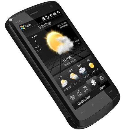 HTC HD 2  Smartphone (10,9 cm (4,3 Zoll) Display, 5 Megapixel