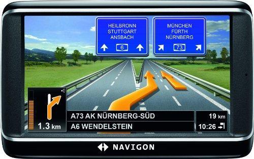 NAVIGON 40 Premium Navigationssystem (10,9cm (4,3 Zoll)