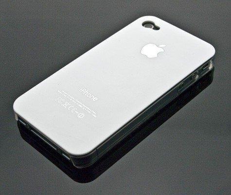 BadBoyz Premium Apple Iphone 4 weiße, hard Logo case