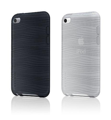 Belkin iPod Touch 4G Grip Groove Duo Schutzhüllen, schwarz/