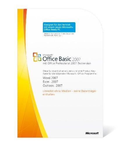 Microsoft Office Basic 2007 deutsch (Lizenz-Key)