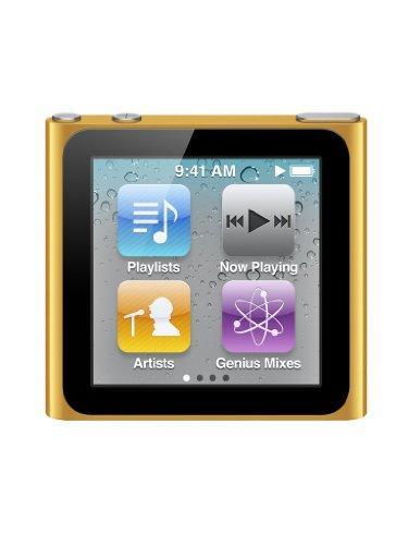 Apple iPod nano MP3-Player (Multi-touch Display) orange 8 GB