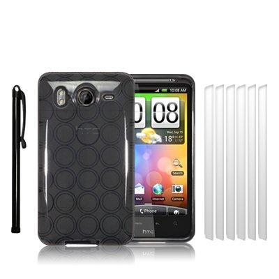 HTC DESIRE HD TPU SILIKON SCHUTZ HUELLE CASE COVER TASCHE IN