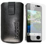 BUGATTI Leder Tasche iPhone 4 Hülle mit iPhone4