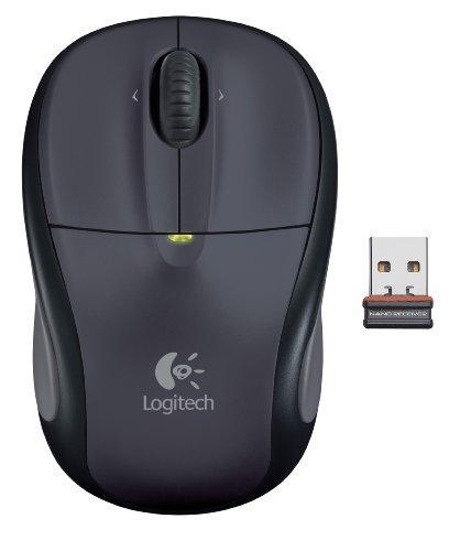 Logitech M305 optische Notebook Maus schnurlos anthrazit