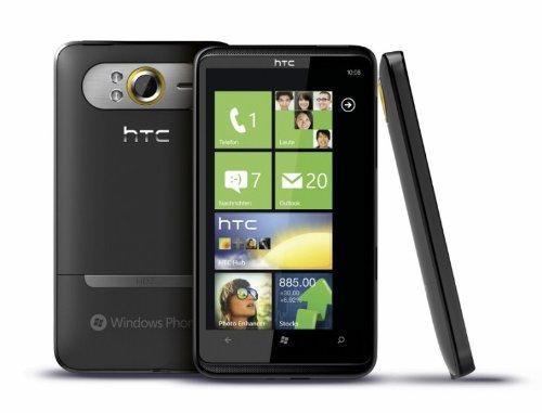 HTC HD7 Smartphone O2-Branding (10,9 cm (4,3 Zoll) Touchscreen,