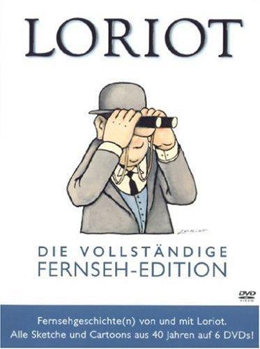 Loriot - Vollständige Fernseh-Edition ((6 DVDs) inkl. 50 noch