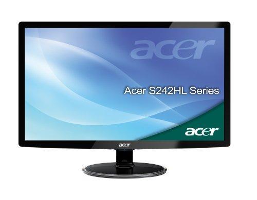 Acer S242HLABID 60,9 cm (24 Zoll) Widescreen TFT Monitor (VGA,