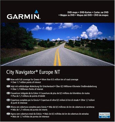 Garmin DVD City Navigator Europa NT 2010