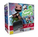 PlayStation 3 – Konsole Slim Black 320 GB + Little Big Planet 2