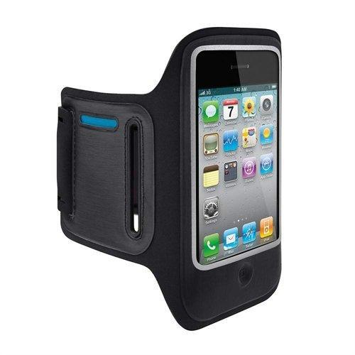 Belkin Apple iPhone 4 DualFit Sportsarmband schwarz
