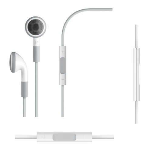 Original Apple Ohrhörer / Kopfhörer mit Lautstärkeregler &