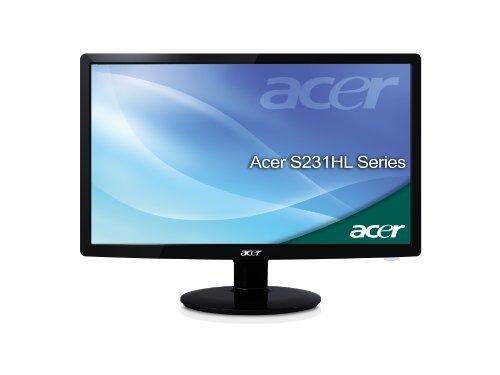 Acer S231HLBID 58,4 cm (23 Zoll) Widescreen TFT Monitor (LED,