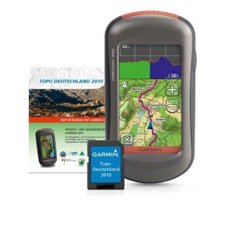 Garmin GPS Handgerät Oregon 450 Bundle inkl. Topo Deutschland