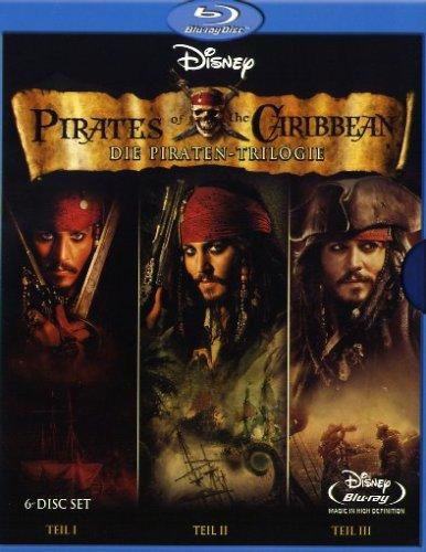 Pirates of the Caribbean - Die Piraten-Trilogie 6-Disc Set