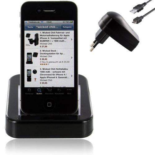 Wicked Dock - Dockingstation für Apple iPhone 4 Dock - iPhone4
