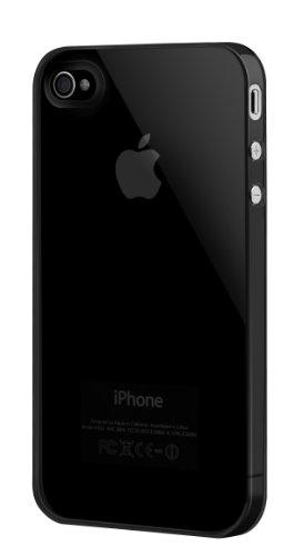 SwitchEasy Nude Hartcoverhülle für Apple iPhone 4 schwarz