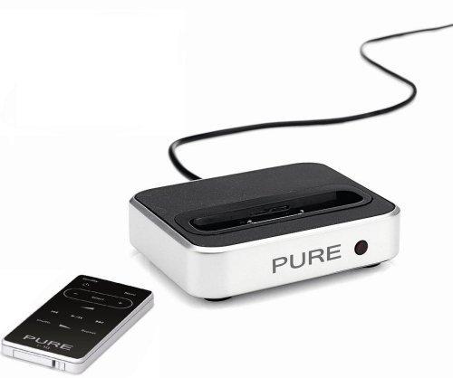 Pure i-10 Dockingstation mit Fernbedienung für Apple iPod