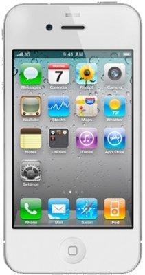 Apple iPhone 4 16GB white - ohne Branding - ohne Simlock - ohne