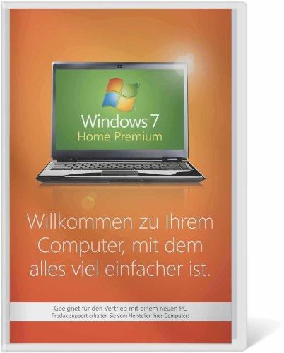 Windows 7 Home Premium 32 Bit OEM