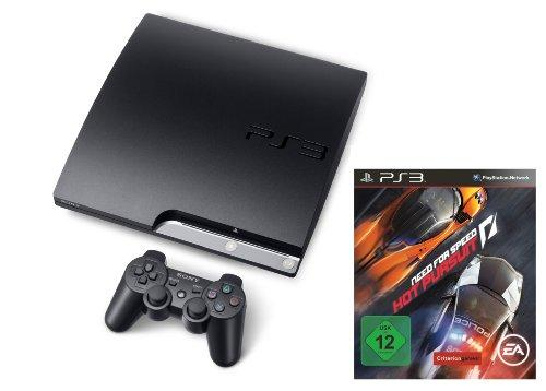 PlayStation 3 - Konsole Slim 160 GB inkl. Need for Speed Hot