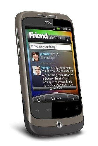 HTC Wildfire Smartphone (5MP, soziale Netzwerke, Android 2.1,