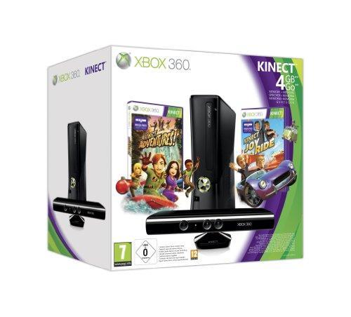 Xbox 360 - Konsole Slim 4 GB Kinect Bundle inkl. Kinect
