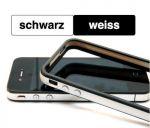 Schutzhülle für iPhone 4 ..::: SCHWARZ – WEISS :::.. mit