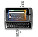 HTC Desire Z Smartphone (Vodafone Branding, 9.4 cm (3.7 Zoll)