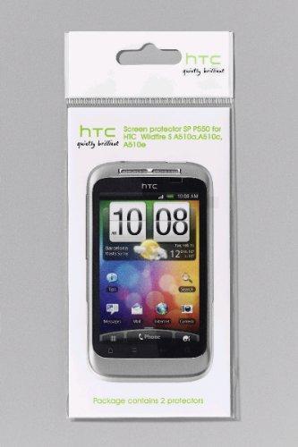HTC SP P550 Displayschutzfolie für HTC Wildfire S (2 Stück)