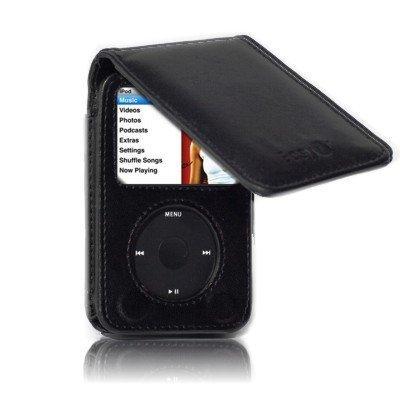 160GB iPod Klassisches echt Leder Schutz Flip Case mit