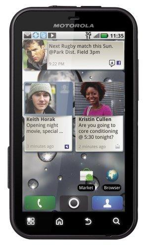 Motorola Defy Smartphone (9,4 cm (3,7 Zoll) Touchscreen, 5 MP