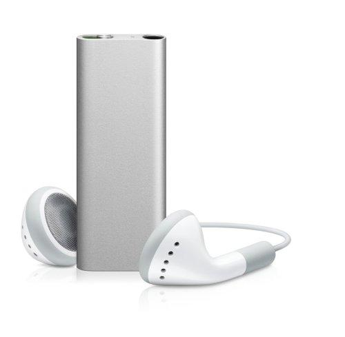 Apple iPod Shuffle MP3-Player silber 4 GB