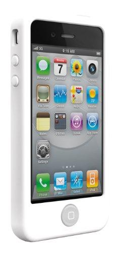 SwitchEasy Colors Silikonhülle für Apple iPhone 4 weiß